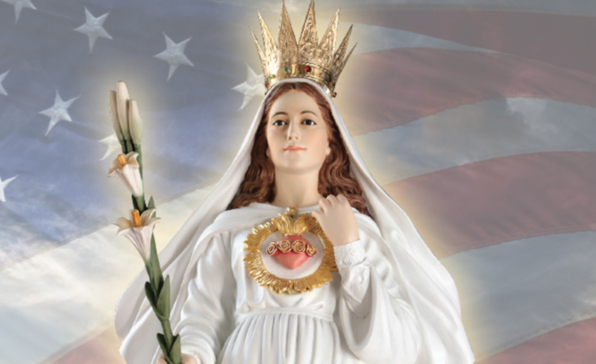Our Lady of America Image cropped