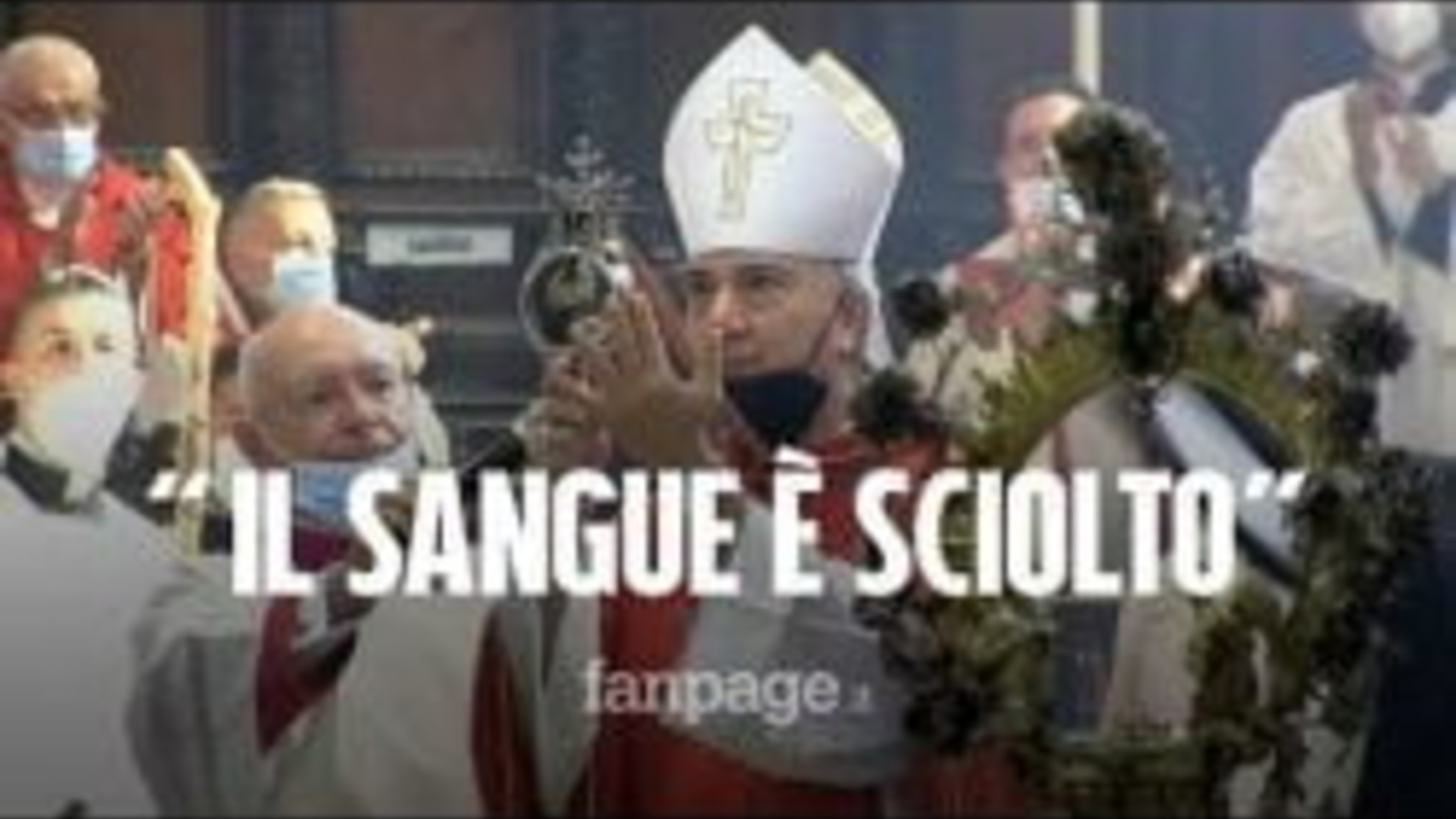 Blood of St. Januarius Miraculously Liquifies Again