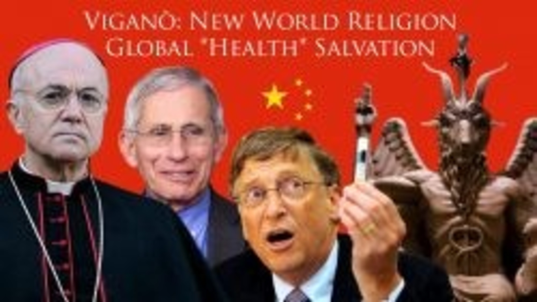 Viganò exposes New World Religion of Global *Health* Salvation and New Sacraments